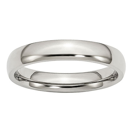 4MM Stainless Steel Wedding Band, 9 , No Color Family