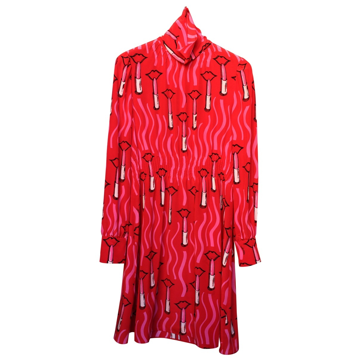 Vestido midi de Seda Valentino Garavani
