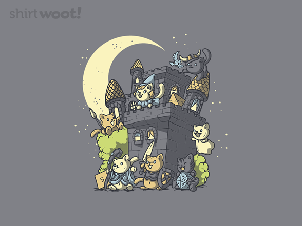 Dungeons And Cats T Shirt