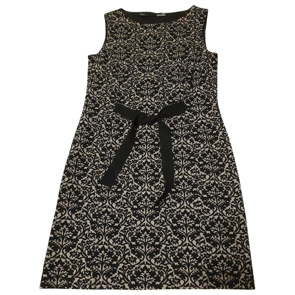 Moschino Love - Robe   pour femme en laine - noir