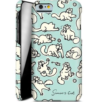 Apple iPhone 6 Smartphone Huelle - Simon´s Cat Green Pattern von Simons Cat