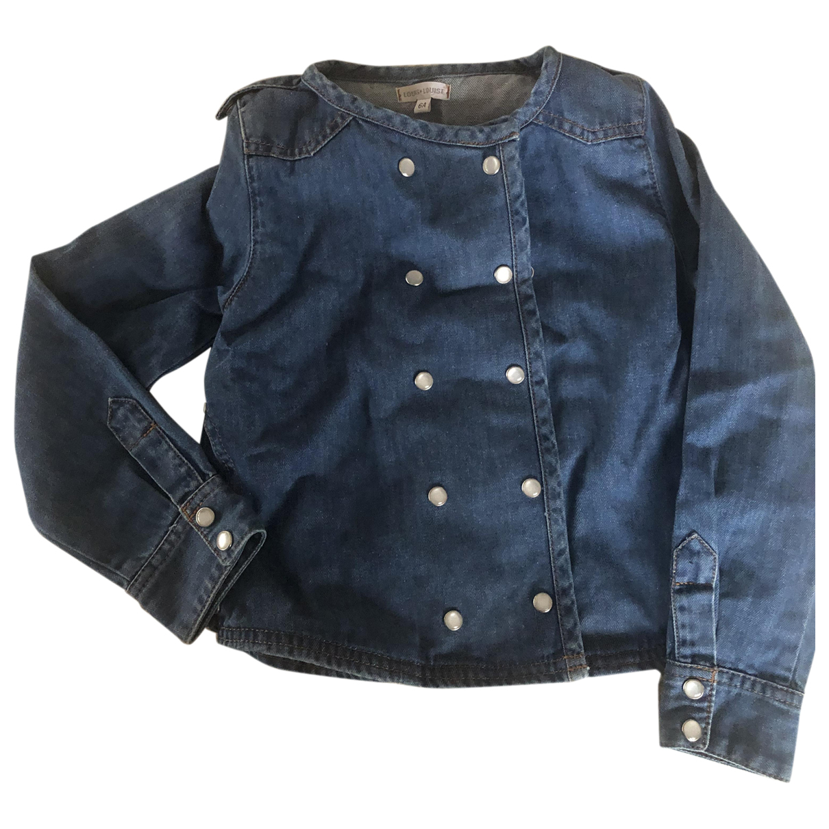 Louis Louise N Blue Cotton jacket & coat for Kids 6 years - up to 114cm FR