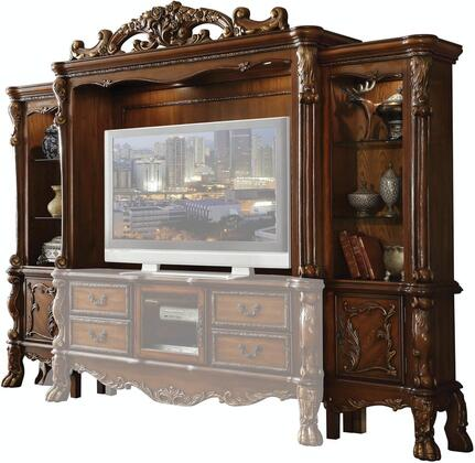 Dresden Collection 91335 Entertainment Center (Side Piers & Bridge)  Max Size Recommended 70
