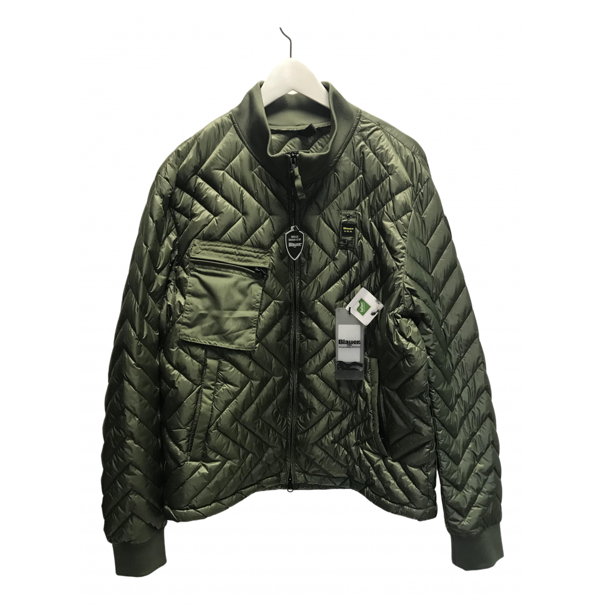 Blauer \N Green jacket  for Men XXL International