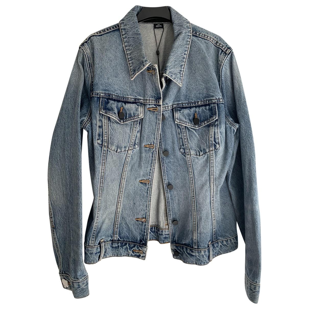 Alexander Wang \N Blue Cotton jacket for Women 8 US