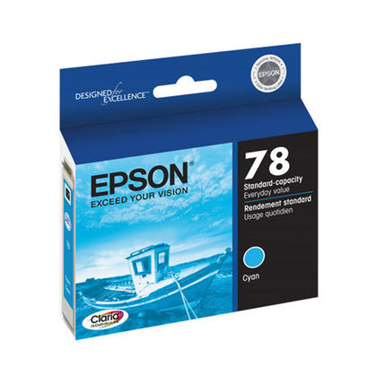 Epson 78 T078220 Original Cyan Ink Cartridge