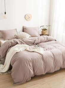 Solid Bedding Set Without Filler