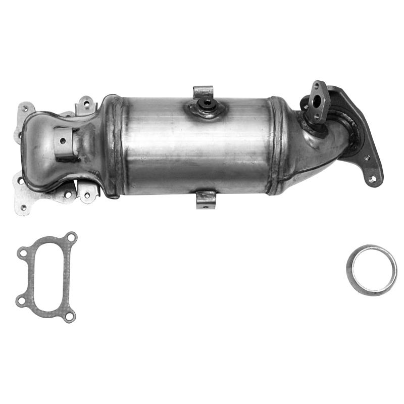 CARB Compliant Direct Fit OBDII Manifold Converter Honda Civic Front 2006-2007 1.8L 4-Cyl
