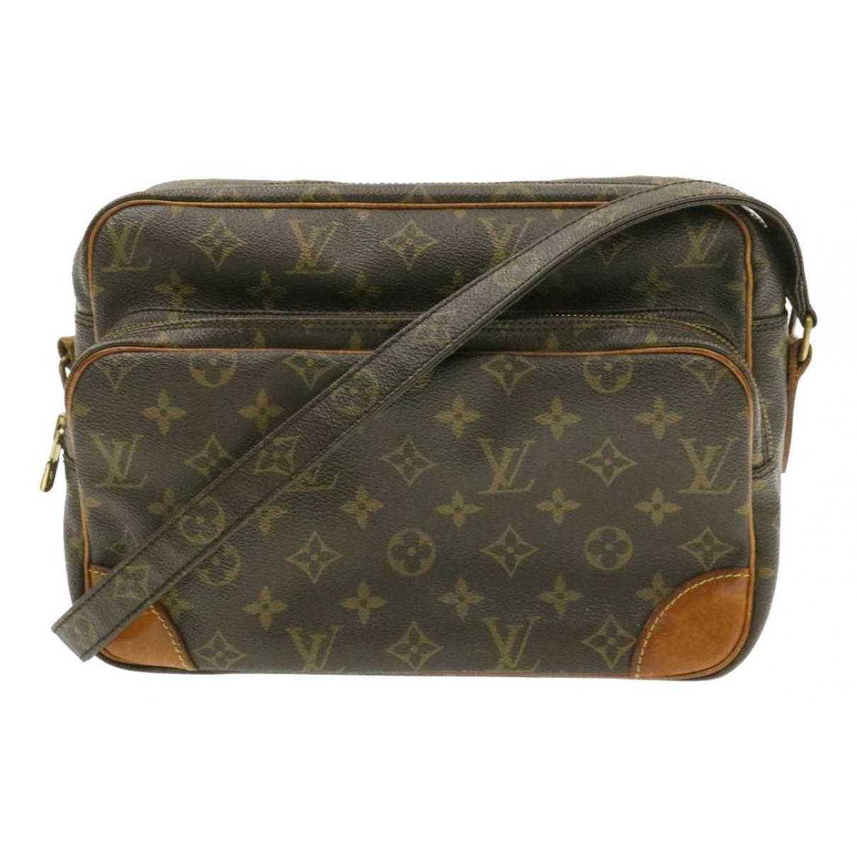 Louis Vuitton Nile Brown Cloth handbag for Women N