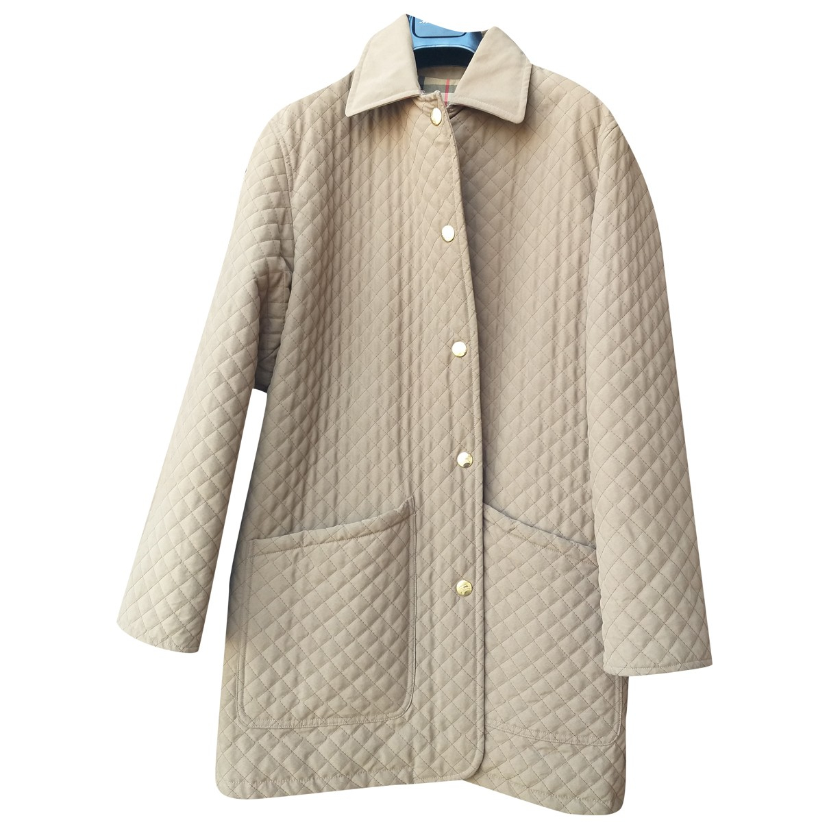 Burberry N Green Cotton jacket for Women 38 FR