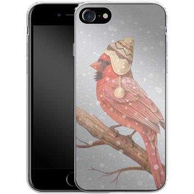 Apple iPhone 7 Silikon Handyhuelle - First Snow von Terry Fan