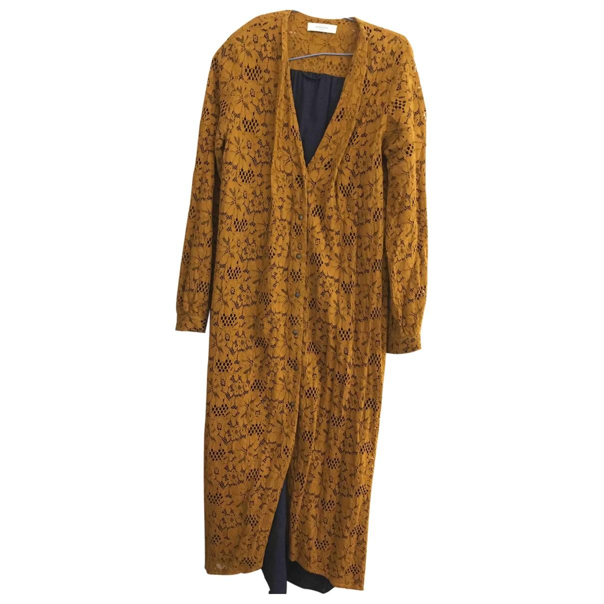 Roseanna - Robe   pour femme en dentelle - marron