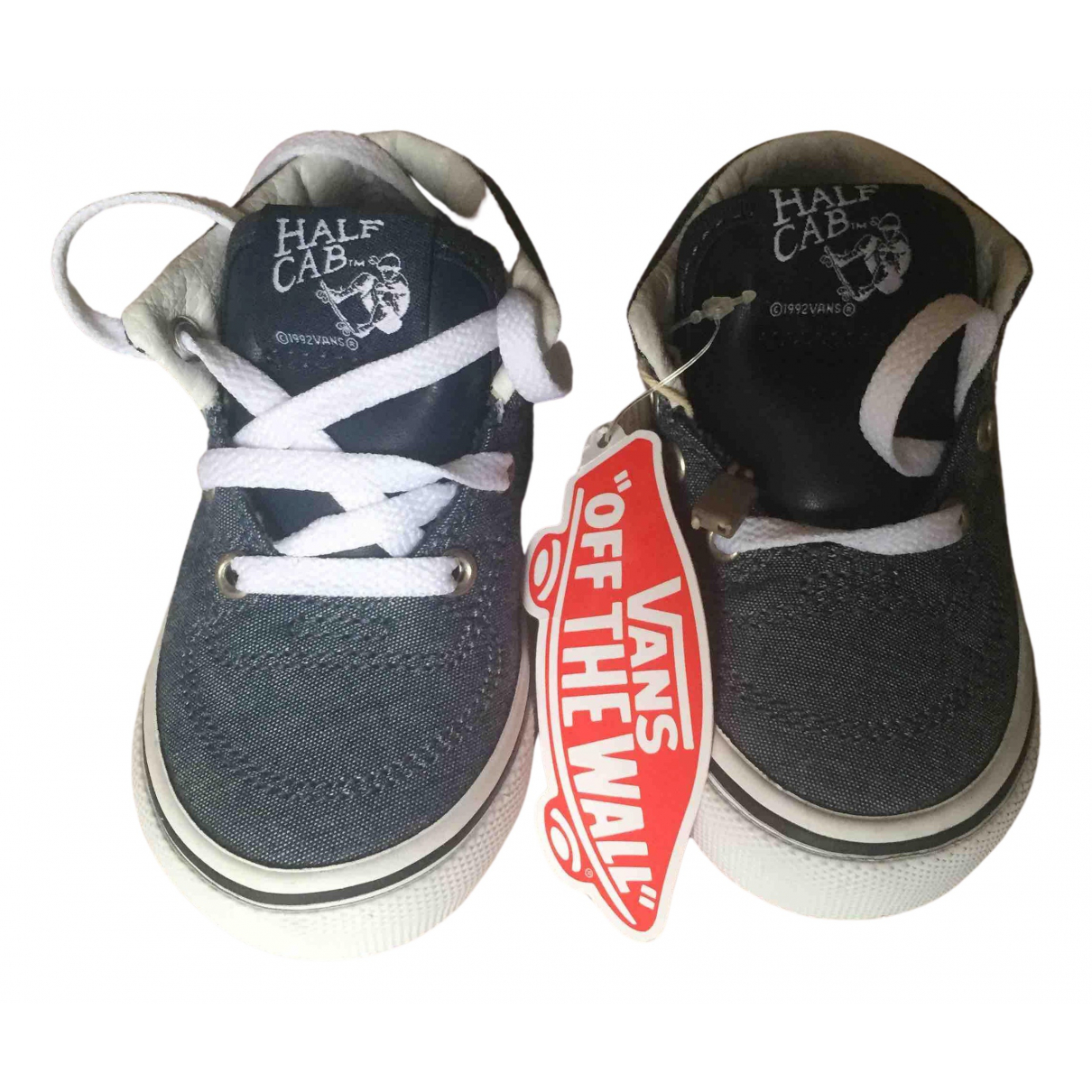 Vans N Blue Cloth Trainers for Kids 4.5 US