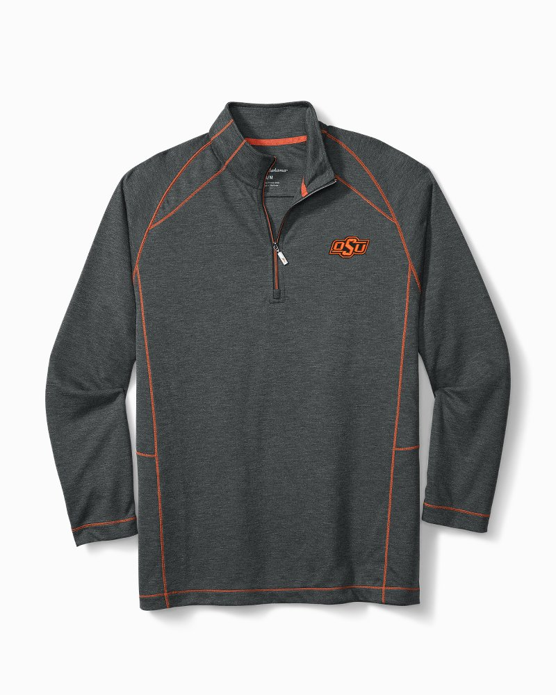 Collegiate Final Score Half-Zip Sweatshirt