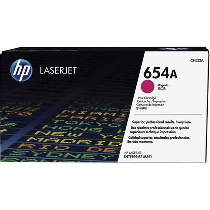 HP 654A CF333A cartouche de toner originale magenta