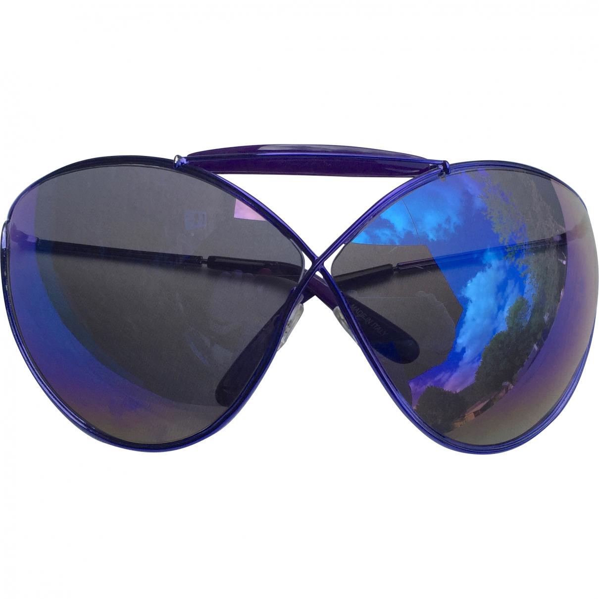Tom Ford \N Sonnenbrillen in  Lila Kunststoff