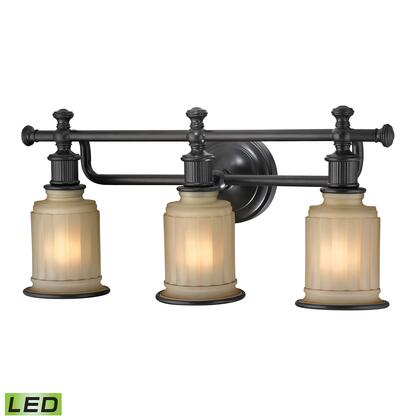 52012/3-LED Acadia Collection 3 Light bath in Oil Rubbed Bronze -