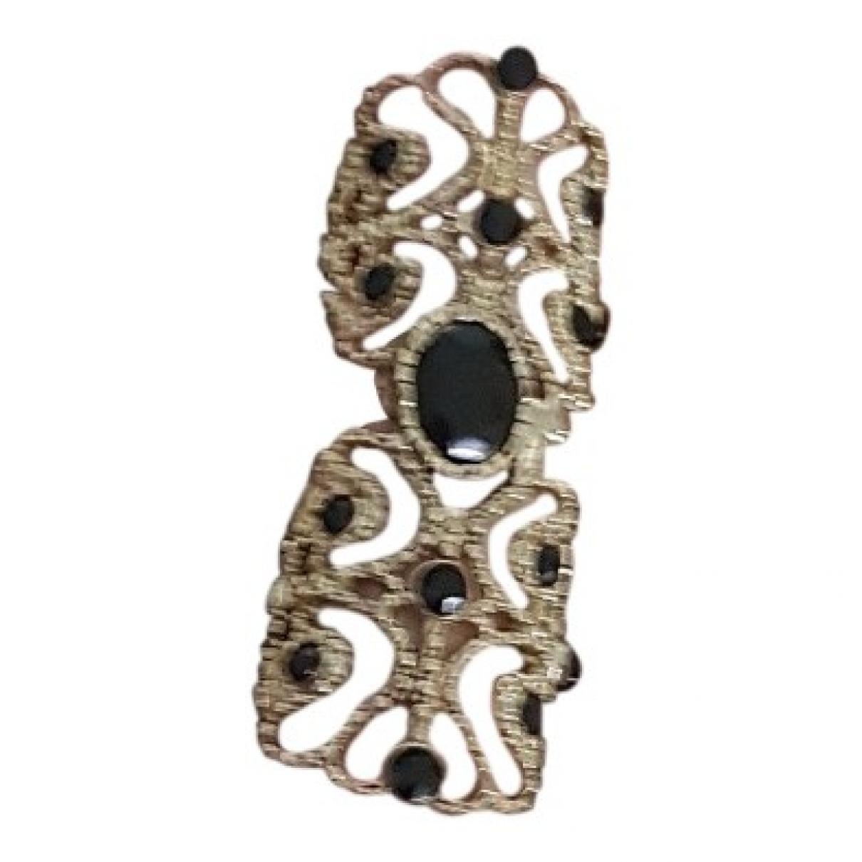 Each X \N Gold Metal ring for Women \N