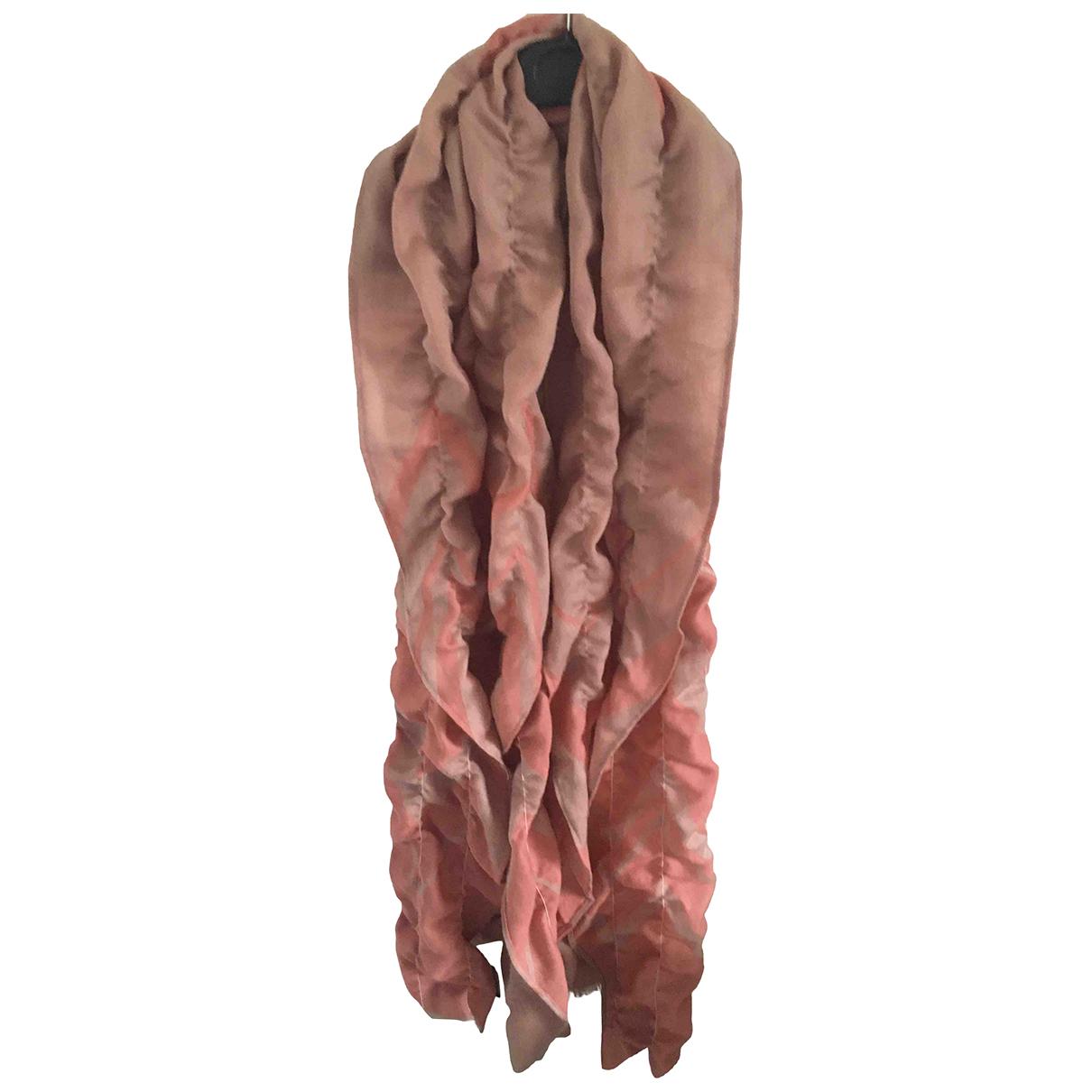 Escada \N Schal in  Rosa Wolle