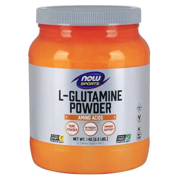 L-Glutamine Powder 1000 Grams (1 Kg) by Now Foods