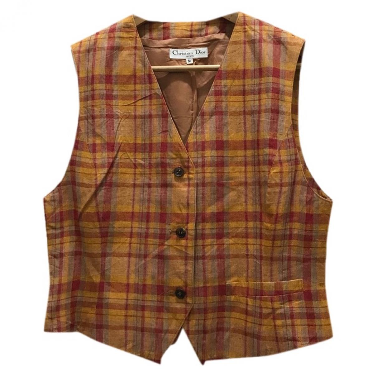 Dior - Veste   pour femme en coton - marron