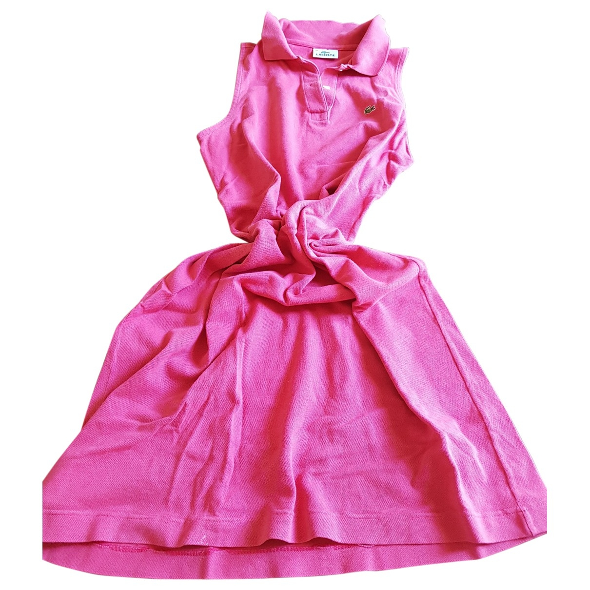Lacoste \N Kleid in  Rosa Baumwolle