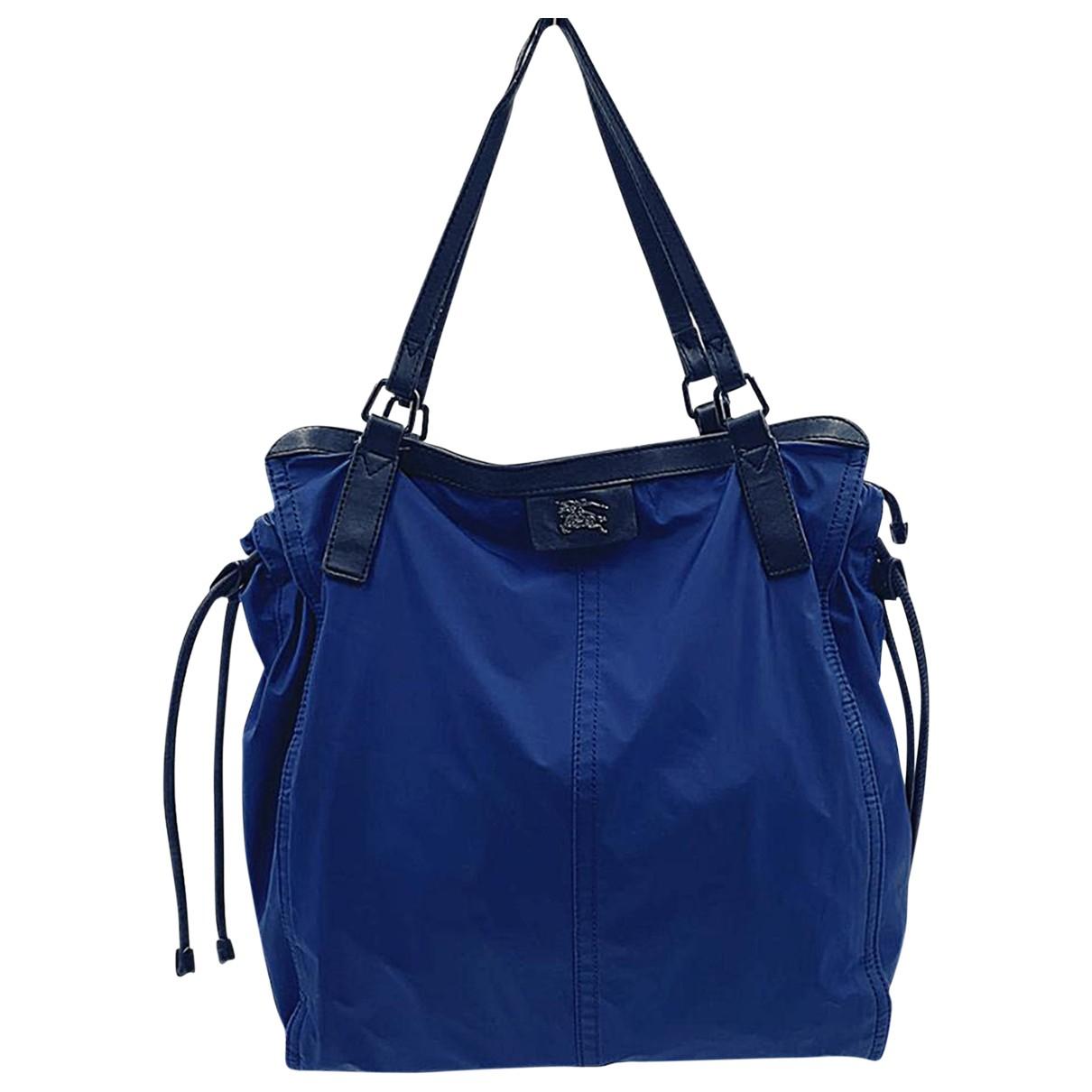 Burberry \N Blue handbag for Women \N