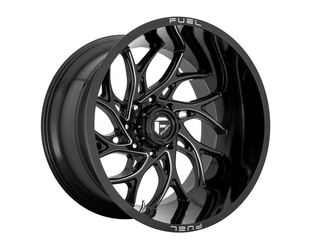 Fuel D741 Runner Wheel 22x12 8x180 -44 Gloss Black Milled