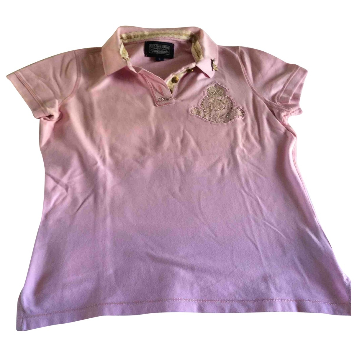 Top en Algodon Rosa Polo Ralph Lauren