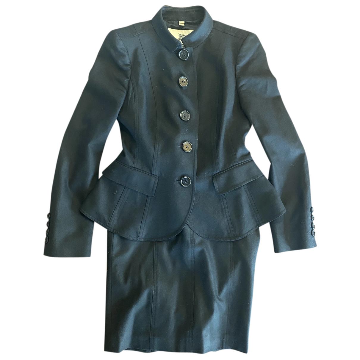Burberry N Black Wool jacket for Women 38 IT