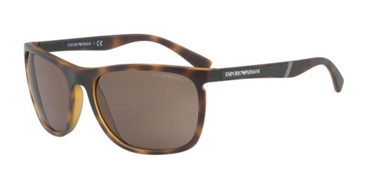 Emporio Armani EA4107 508973 Men's Sunglasses Tortoise Size 59