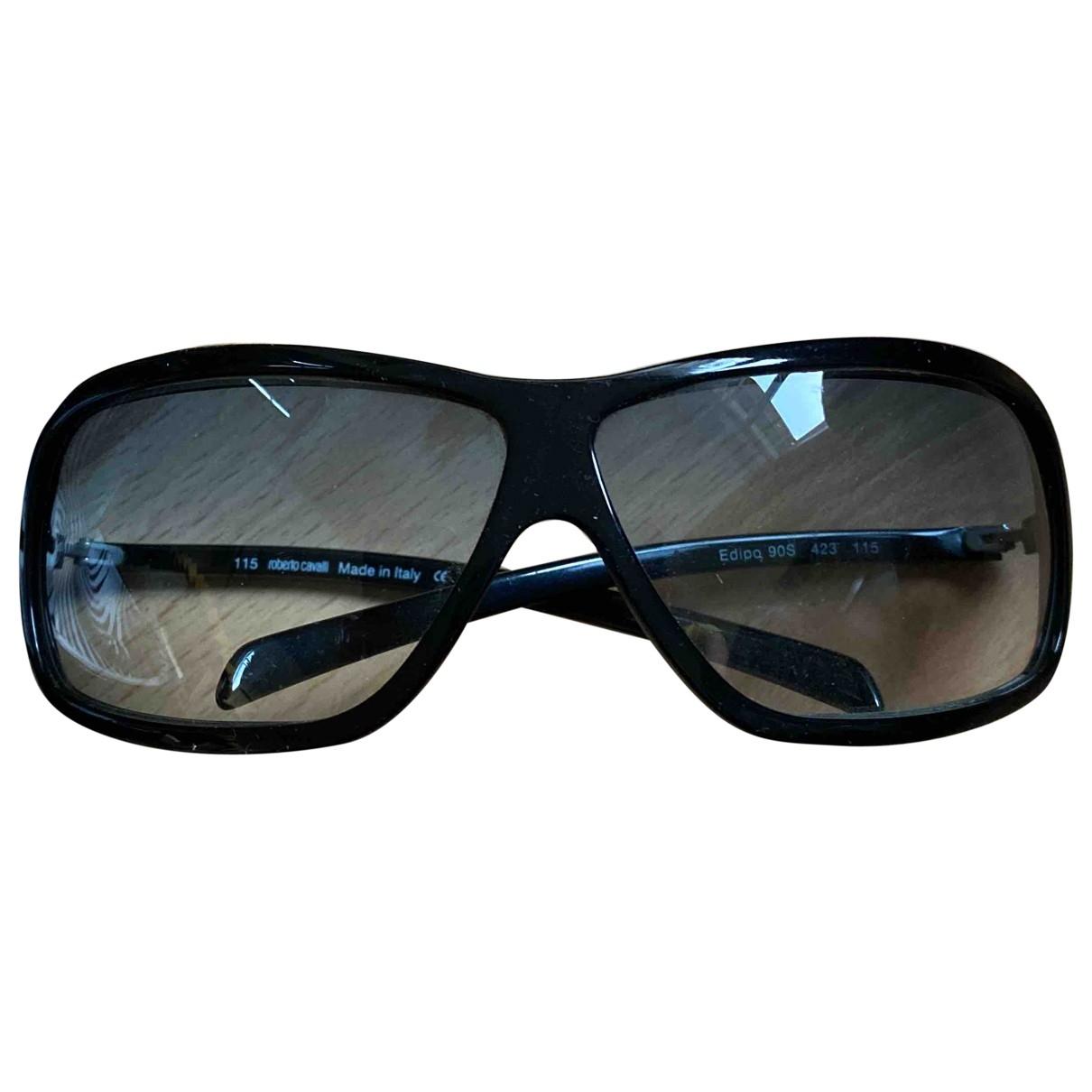 Roberto Cavalli \N Sonnenbrillen in  Schwarz Kunststoff