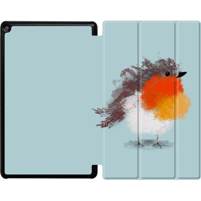 Amazon Fire HD 10 (2018) Tablet Smart Case - Cloudy Robin von caseable Designs
