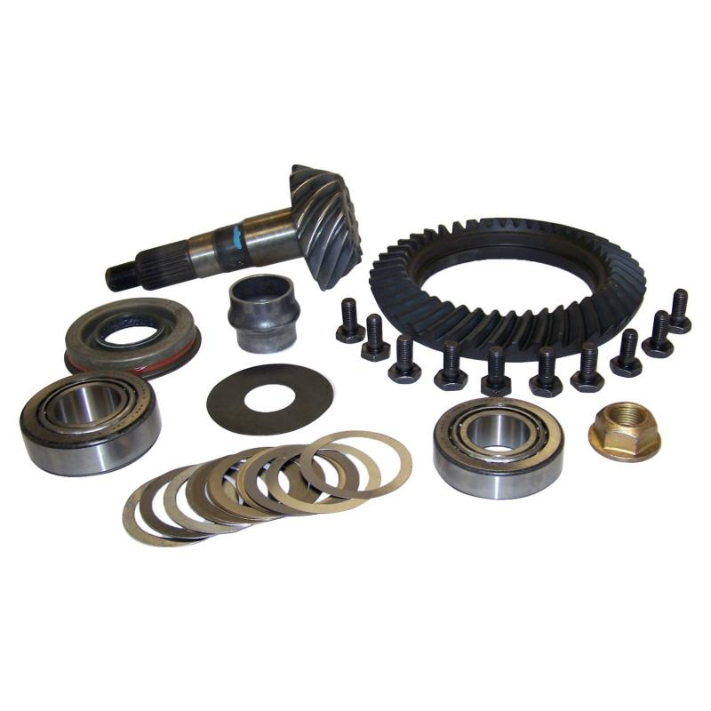 Crown Automotive 5072997AB Jeep Replacement Ring & Pinion Kit for Various Jeep Vehicles w/ Dana 30 Front Axle: 3.07 Ratio Jeep Front