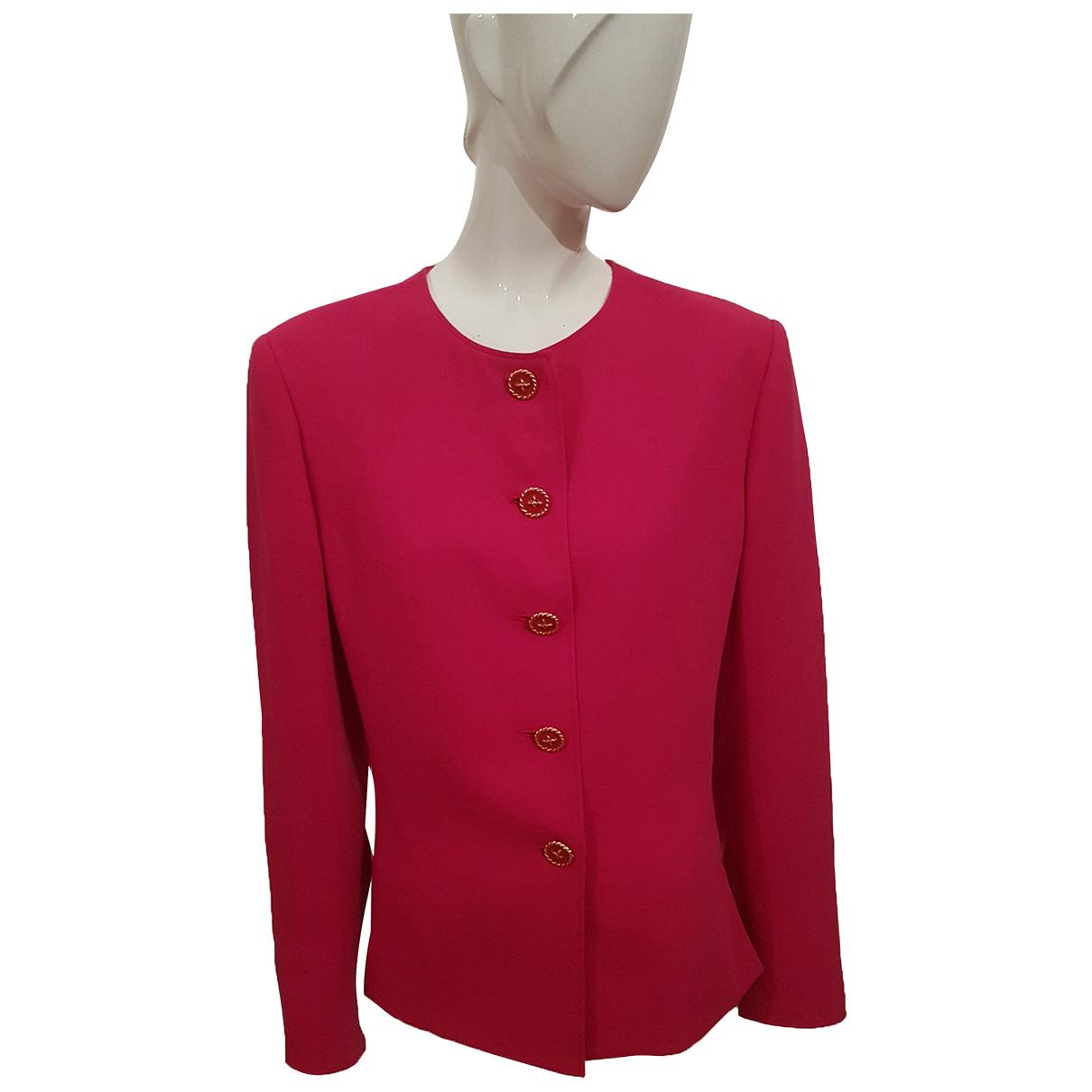 Marella - Veste   pour femme en laine - rose