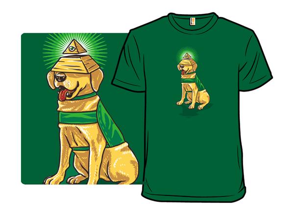 All Seeing Eye Dog T Shirt