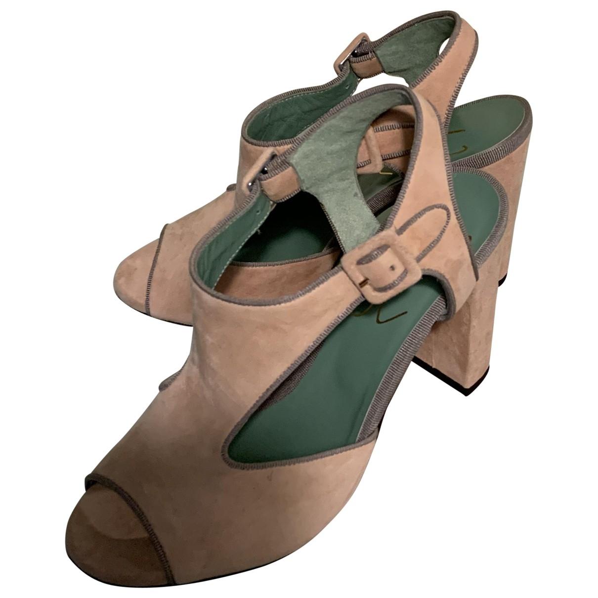 Sandalias de Terciopelo Paola Darcano