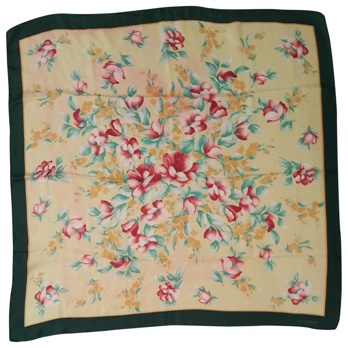 Courreges - Foulard   pour femme en soie - multicolore