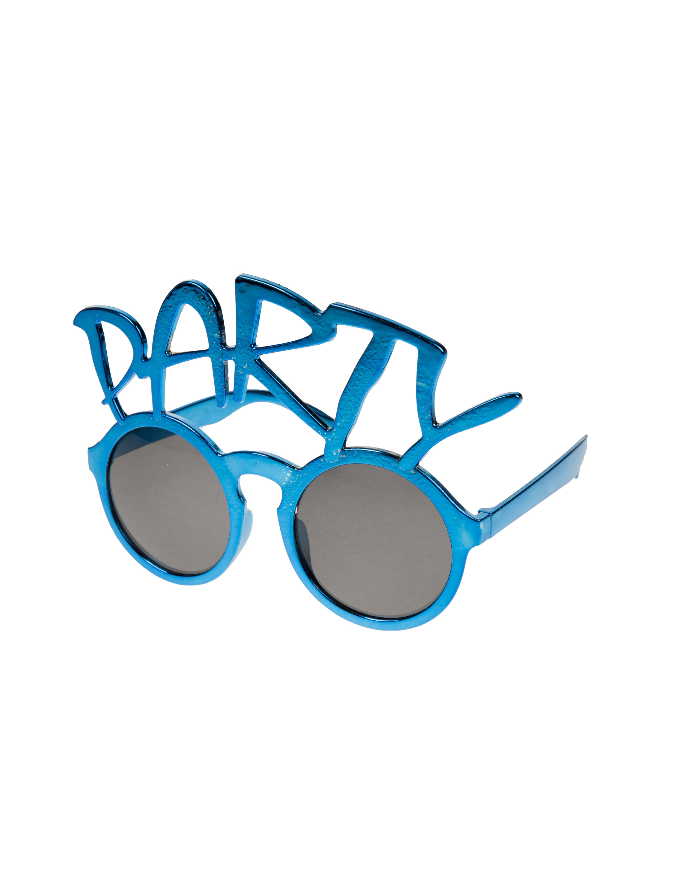 Kostuemzubehor Brille Party blau