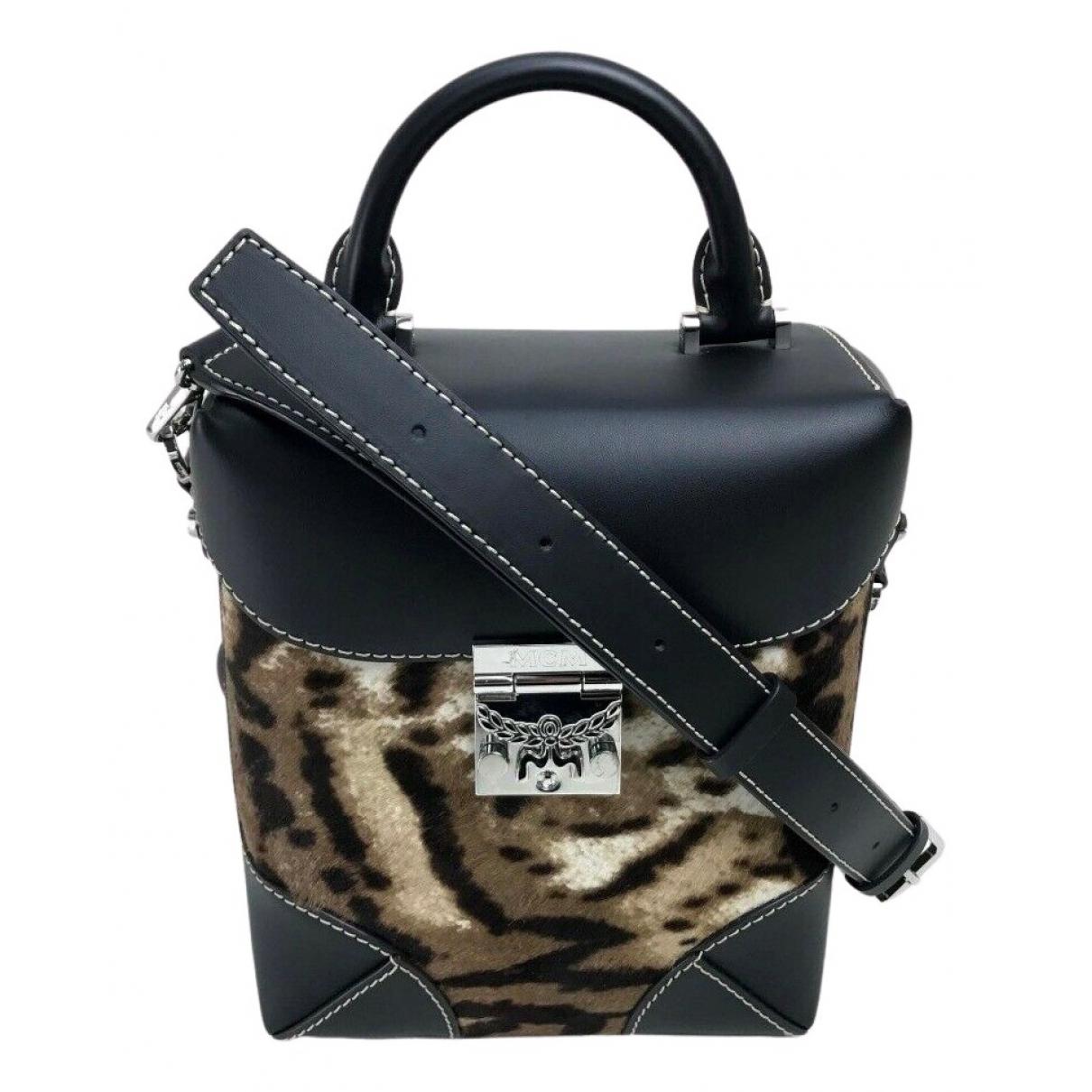 Mcm \N Handtasche in  Bunt Leder