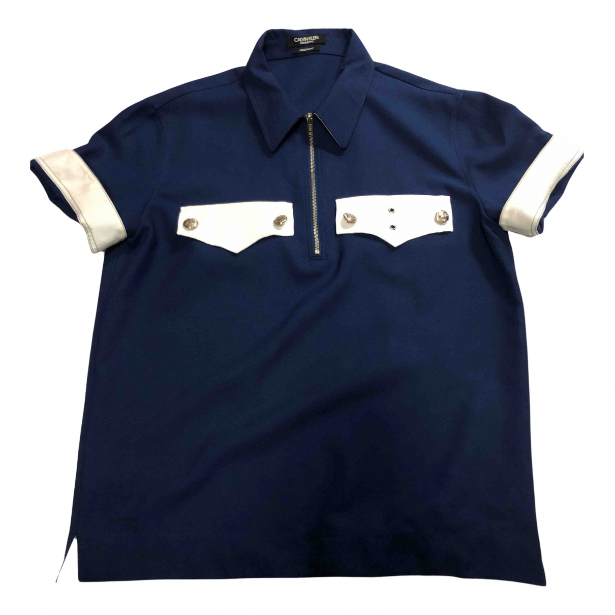 Calvin Klein 205w39nyc N Navy Shirts for Men L International