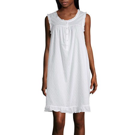Adonna Ruffle Chemise Womens Scoop Neck Sleeveless Nightgown, Xx-large , Multiple Colors