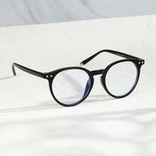 Guys Round Frame Glasses