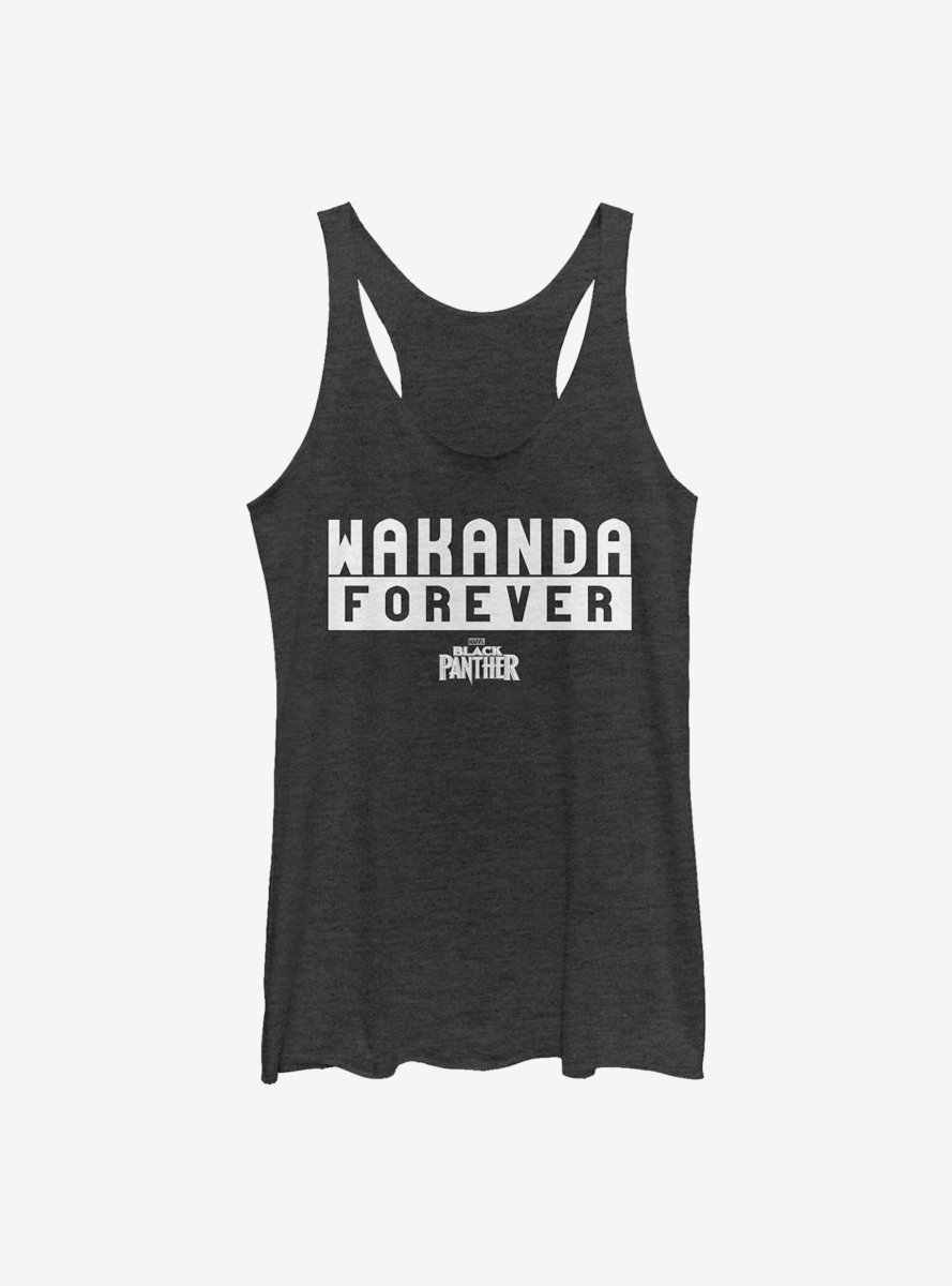 Marvel Black Panther Forever Womens Tank Top