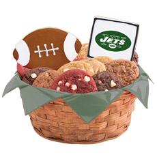 NFL New York Jets Cookie Basket