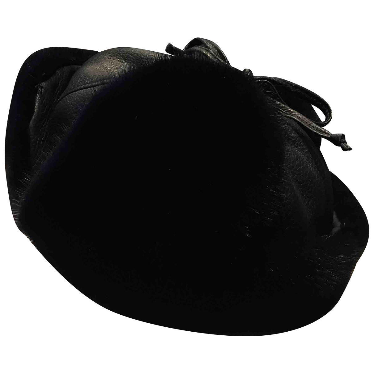 Brioni \N Navy Mink hat & pull on hat for Men 60 cm