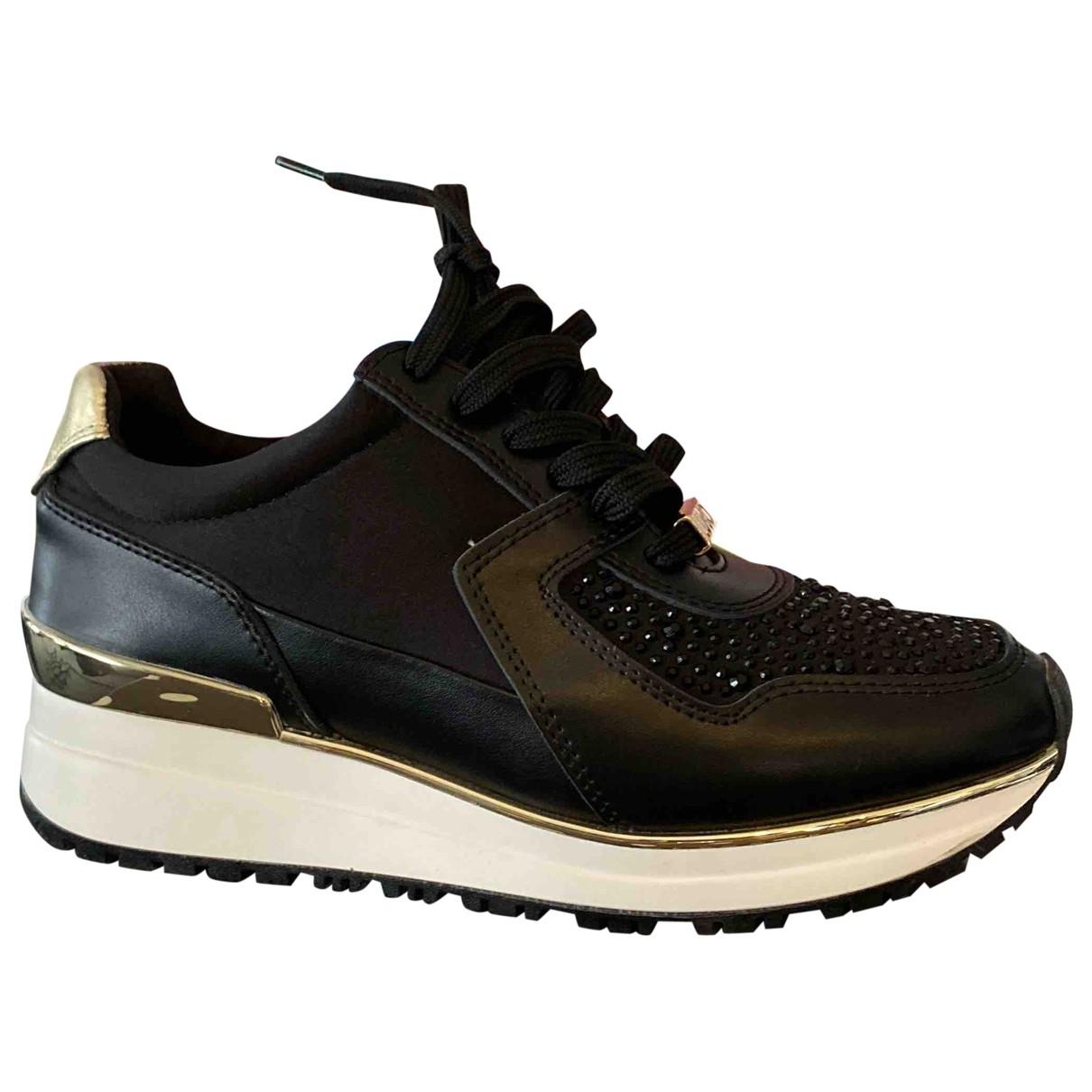 Liu.jo \N Sneakers in  Schwarz Leder