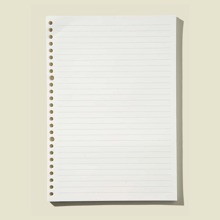 60sheets 26 Hole Loose-leaf Refill Paper