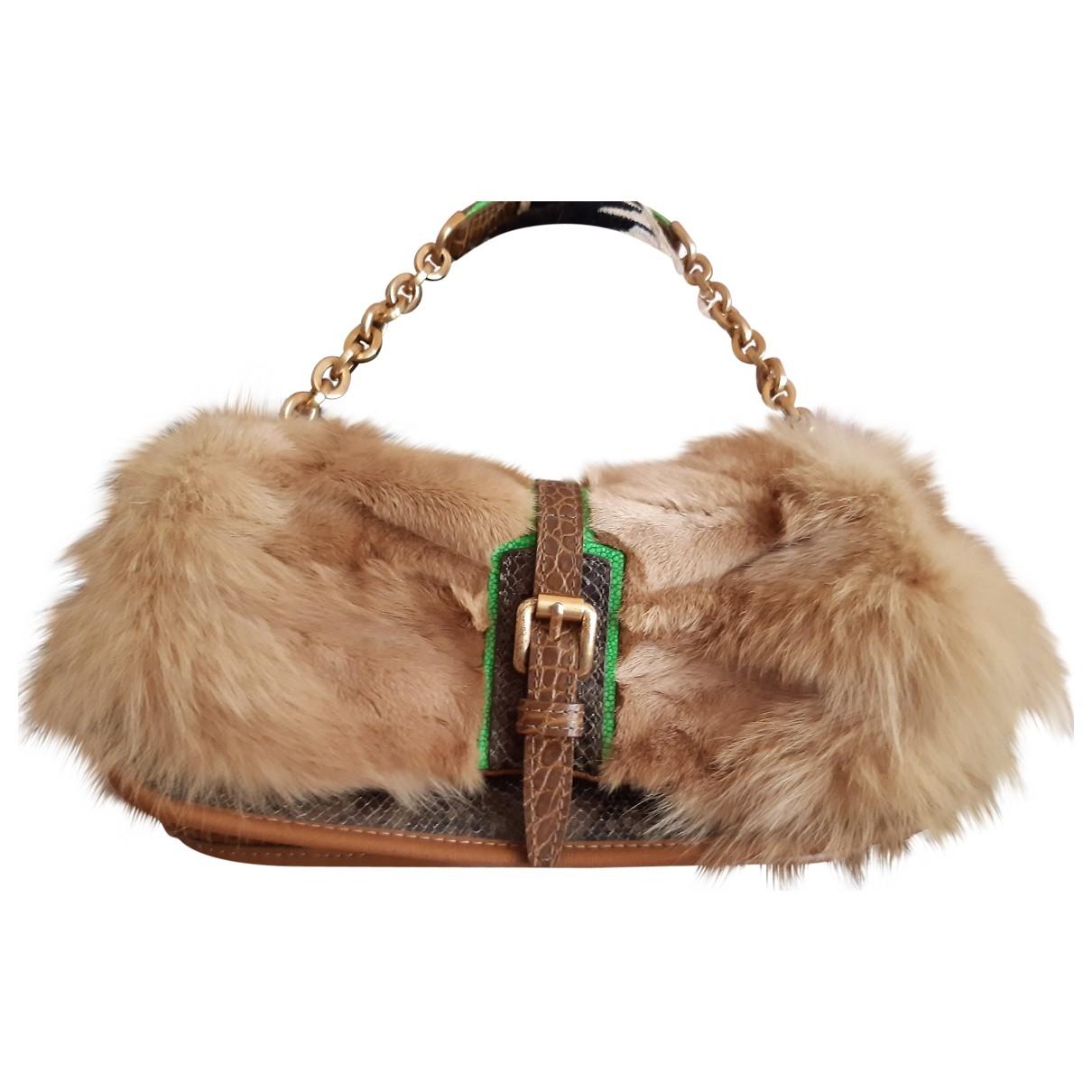 Longchamp \N Handtasche in  Kamel Fuchs