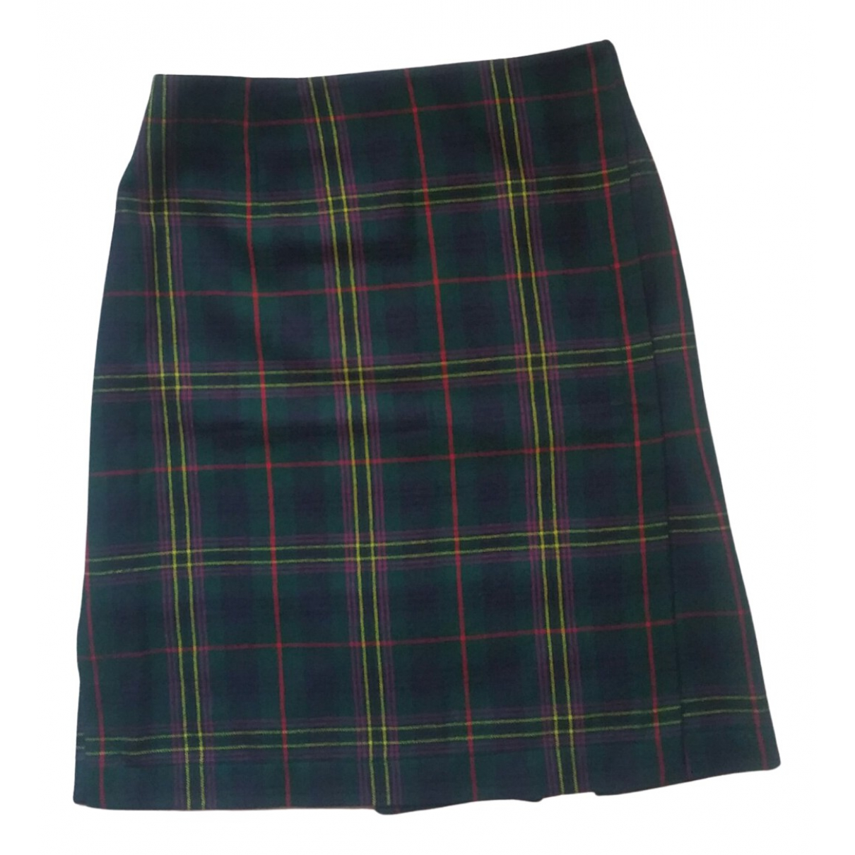 Non Signé / Unsigned N Multicolour Wool skirt for Women 42 IT